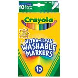 10CT FINE LINE COLOR MAX MARKERS ULTRA-CLEAN WASHABLE