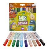 10CT SILLY SCENTS STINKY MARKERS BROAD LINE WASHABLE