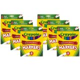 (6 BX) COLORING MARKER BOLD CONICAL8CT PER BX