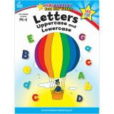 LETTERS UPPERCASE & LOWERCASE HOME WORKBOOK GR PK-K