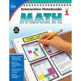 INTERACTIVE NOTEBOOKS MATH GRADE 1 RESOURCE BOOK