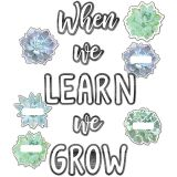 WHEN WE LEARN WE GROW BB ST SIMPLY STYLISH