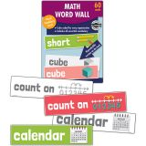 (3 PK) MATH WORD WALL GR K