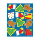 HOLIDAY SHAPE STICKERS
