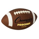 JUNIOR SIZE PRO COMP FOOTBALL 2 PLYBLADDER TACKY