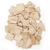 WOODEN SHAPES 350 PIECES