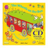 (3 EA) THE WHEELS ON THE BUS 8X8 BOOK WITH CD