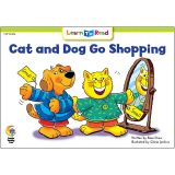 CAT AND DOG GO SHOPPING LEARN TO READ