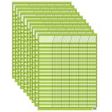 (10 EA) LIME GREEN INCENTIVE CHART