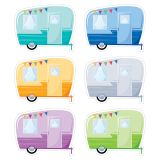 VINTAGE TRAILERS 6IN CUT OUTS WOODLAND FRIENDS