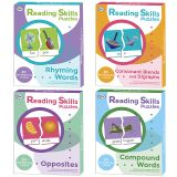 READING SKILLS PUZZLES SET OF ALL 4