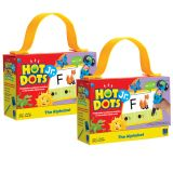 (2 EA) HOT DOTS JR CARDS THE ALPHAB