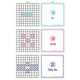SENSATIONAL MATH ACT CARDS SET OF 3 HOW MANY