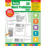 DAILY WORD PROBLEMS MATH GRADE 2