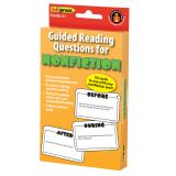 GUIDED READING QUESTION CARDS NONFICTION