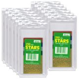 (12 PK) STICKERS FOIL STARS .5IN ASSORTED 250 PER PK