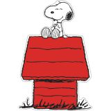 (6 PK) SNOOPY ON DOG HOUSE ACCENTS