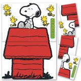(2 ST) GIANT CHARACTER SNOOPY & DOGHOUSE BB SET