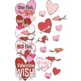 1 FISH 2 FISH VALENTINES DAY DOOR DECOR KIT