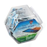 TOUCH SCREEN WIPES TUB OF 200