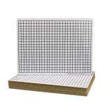 TWO SIDED SQUARES GRID BOARD 24PK