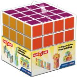 MAGICUBE - 64 PIECE MULTICOLORED FREE BUILDING SET