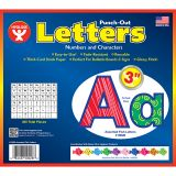 3IN PUNCH OUT LETTERS ASSORTED FISH