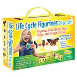 LIFE CYCLE FIGURINES 24PC SET