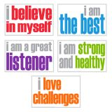 POSITIVITY POSTERS PACK OF 5
