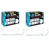 (2 EA) WRITE-ON/WIPE-OFF 52 BLANK PUZZLE PIECES