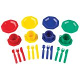 PRETEND & PLAY DISH SET 24 PIECES