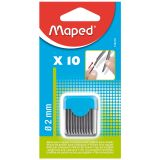 MAPED LEAD REFILLS FOR COMPASSES 2MM 10PK