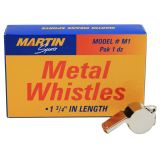 WHISTLE SMALL METAL 12/PK 1-3/4L