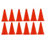 (12 EA) SAFETY CONE 9IN WITH BASE