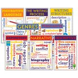 WRITING CHATTER CHARTS SET OF 8