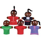 HOW AM I FEELING HAND PUPPETS AFRICAN AMERICAN