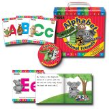ALPHABET ANIMAL FRIENDS EARLY READERS BOXED ST
