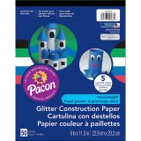 GLITTER CONSTRUCTION PAPER PAD 9X11.5