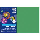 TRU RAY 12 X 18 HOLIDAY GREEN 50SHT CONSTRUCTION PAPER