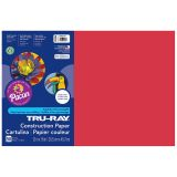 TRU RAY 12 X 18 HOLIDAY RED 50 SHT CONSTRUCTION PAPER