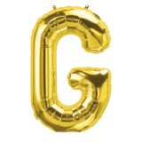 16IN FOIL BALLOON GOLD LETTER G