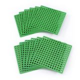 BASEPLATES CLASSROOM PACK SET OF 12 PLUS-PLUS