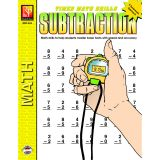 TIMED MATH DRILLS SUBTRACTION