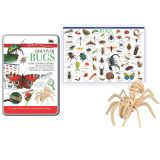 TIN SET DISCOVER BUGS WONDERS OF LEARNING