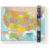 UNITED STATES WALL CHART W/ INTERACTIVE APP
