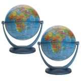 (2 EA) 4IN BLUE OCEAN GYROGLOBE