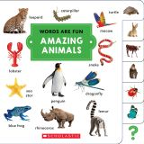 (3 EA) WORDS ARE FUN AMAZING ANIMAL