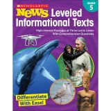 GR 5 SCHOLASTIC NEWS LEVELED INFO TEXTS