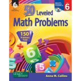 50 LEVELED MATH PROBLEMS LEVEL 6 W/ CD