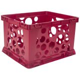 (12 EA) MICRO CRATE RED